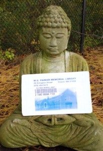 Learn to meditate.  Or learn about a new culture or religion. You have the power in your Library card!